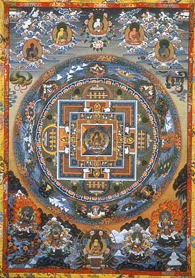 A sample Buddhist Mandala